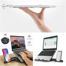 Laptop Folding Stand 360 Degree Rotating Bottom Cooling Pad Bracket Phone Holder
