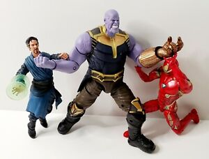 Marvel Legends 3 Pack MCU The First Ten Years Thanos Dr Strange Iron Man Figures