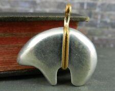 Sterling Silver Southwestern Bear Pendant