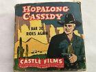 Hopalong Cassidy 16 MM Film, BAR 20 RIDES AGAIN, Original Box, Castle Films