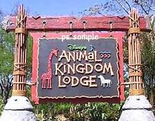 Florida Disney ANIMAL KINGDOM LODGE SIGN Travel Souvenir Flexible Fridge Magnet