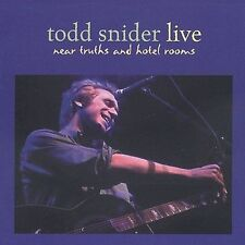 Near Truths and Hotel Rooms Live by Todd Snider (CD, May-2010, Oh Boy)