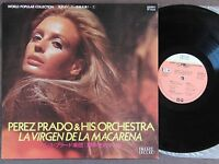 JAPAN LP Sexy Cheesecake Cover PEREZ PRADO La Virgen De La Macarena PLS-102 w/PS