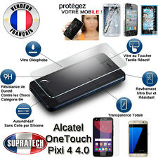 Protection Ecran Verre Trempé Contre les Chocs pour Alcatel OneTouch Pixi 4 4.0