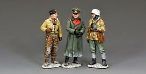 KING & COUNTRY BATTLE OF THE BULGE BBG120 WW2 GERMAN BATTLEFIELD CONFERENCE SET