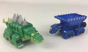 Dinotrux Ton Ton Garby Figures Dinosaur Trucks Die Cast Netflix 2015  Mattel Toy