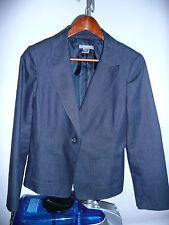 Ann Taylor Dark Blue Jacket Coat Women's Size 10P