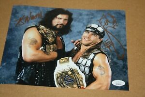 "WWE WWF SHAWN MICHAELS HBK & KEVIN NASH ""DIESEL"" DUAL SIGNED 8X10 PHOTO JSA BL"