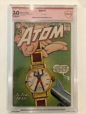 The Atom #3 CBCS 3.0 verified signature Gil Kane & Murphy Anderson NOT CGC SS