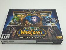 World of Warcraft: Battle Chest (Windows/Mac, 2007) Blizzard Rpg Sealed New