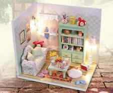 Miniatures DIY Kits w/Light Display-Family Hall