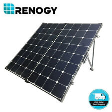 Open Box Renogy Eclipse 200W 12V Mono Solar Panel Suitcase Folding Portable