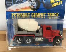 Hot Wheels Vintage All Blue Card #78 Peterbilt Cement Mixer – Real Nice blister!