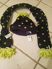 Gap kids NWT hat toboggan and scarf size s/m