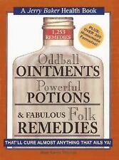 Jerry Baker Book Ointments Potions and Folk Remedies