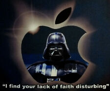 Star Wars Darth Vader In Apple themed MOUSEMAT for Mac Macbook - mouse mat pad