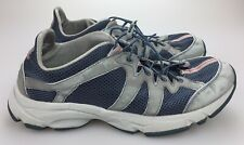 LL Bean Mens Shoes Size 12 Med Sneakers Hiking Walking Bungee Laces Gray 05330