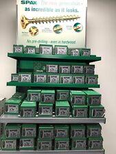 Spax Yellox PZ Countersunk Woodscrews  200 Pack