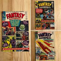 Fantasy Masterpiece 1, 4 & 11 (Marvel) 1966-1967