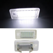 LED License Number Plate Light Canbus For Audi A3 S3 A4 S4 RS4 A6 S6 RS6 A5 Q7