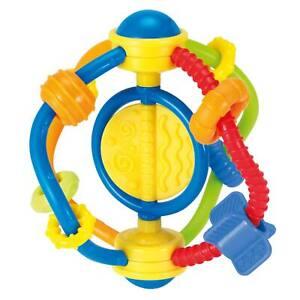 Baby Spielzeug Greif- und Spiel-Rassel Ring Greifling Geräuschen Beißring 0M+ DE
