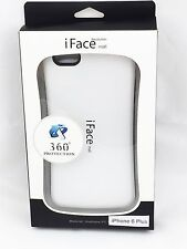 iFace Shockproof Heavy Back Skin Hard Case Cover for iPhone 6/6S Plus White