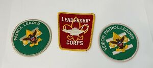 Lot of Boy Scout Leadership Patches