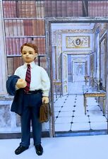Dollhouse Miniature Dressed Resin Male Doll