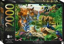 In the Jungle - Mindbogglers Illustrated 2000 Piece Deluxe Jigsaw Puzzle