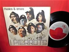 I PIERROTS Musica & amore 45rpm 7' + PS 1978 ITALY MINT