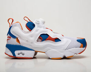 Reebok Classic InstaPump Fury OG NM Men's White Blue Lifestyle Sneakers Shoes