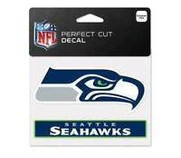 Seattle Seahawks Aufkleber Logo Decal Badge Emblem NFL Football