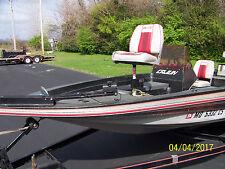 """1989 Cajun Bass Boat, 16' 4"""", Fiberglass Outboard"""