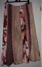 Full Length Viscose Hippy, Boho Floral Skirts for Women