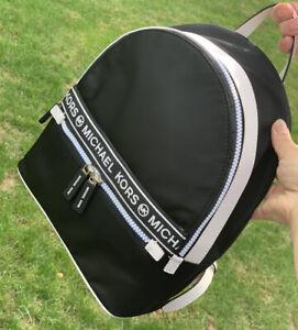 NWT Michael Kors Kenly Lightweight Nylon Medium Backpack Black