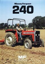 MASSEY FERGUSON MF 240 PARTS MANUAL & DIAGRAMs 135p for Tractor Service & Repair