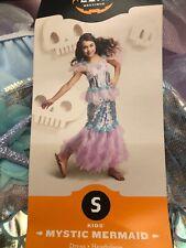 Girls Mermaid Tutu Dress S 4-6x costume dress up play long length