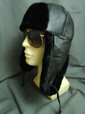 Men's Leather Trapper Hat
