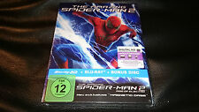 The Amazing Spiderman 3D+2D Blu-Ray Magno magnétique Case Edition Steelbook