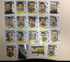 Panini World Cup 2006 Australia Socceroos Set Of 19 Soccer Football Stickers