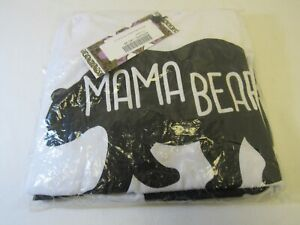 BooHoo Maternity Mama Bear Night PJ Pyjamas Set BZZ49791 Size 12 - FIS L96