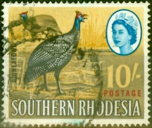 Southern Rhodesia 1964 10s SG104 Fine Used