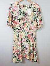 FAITHFULL THE BRAND   Womens Venissa Floral Dress NEW  [ Size AU 14 or US 10 ]
