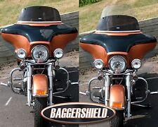 "Harley Davidson FLHT Convertible Baggershield Windshield 9""-15"""