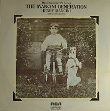 "THE MANCINI GENERATION - HENRY MANCINI 12"" LP (Q730)"