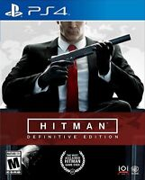 HITMAN Definitive Edition PS4 Playstation 4 Brand New Sealed