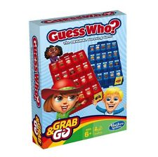 NEW HASBRO GUESS WHO? GRAB & AND GO TRAVEL GAME B1204 BOARD GAMES PORTABLE