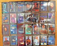 1996 STAR TREK TOS Playmate Peninsula Vending Sticker Set (28) Refractor Prizm