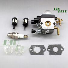 C1Q-S225 Vergaser + Zündkerze für Stihl HS81 HS81R HS81RC HS81T HS86 HS86R HS86T