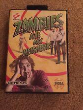 Zombies Ate My Nachbarn (Sega Genesis, 1993) komplett in Box